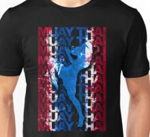 Muay Thai Boxing Flag Fighter Thailand Martial Art Unisex T-Shirt
