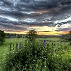 Inverawe Sunset by Roddy Atkinson