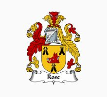 Rose Coat of Arms / Rose Family Crest Unisex T-Shirt