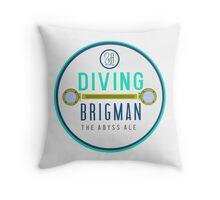 Diving Brigman Throw Pillow