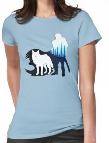 John Snow Womens Fitted T-Shirt