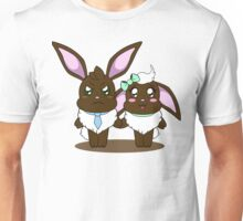 Chocolate Bunny Couple Unisex T-Shirt