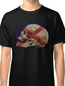 Skull with Cross Classic T-Shirt