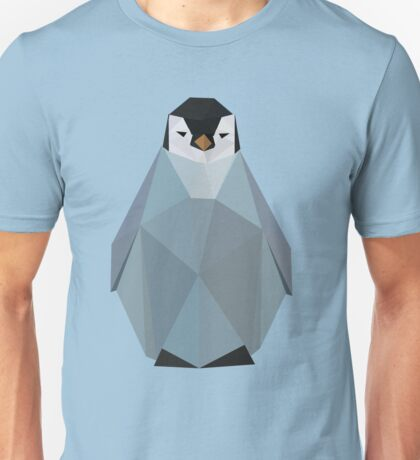 Cute Polygon Baby Penguin Unisex T-Shirt