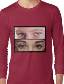 Dramione. Eyes. Long Sleeve T-Shirt