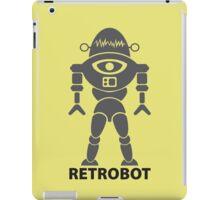 RETROBOT (steel) iPad Case/Skin
