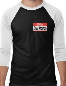 The Princess Bride Quote - Hello My Name Is Inigo Montoya Men's Baseball ¾ T-Shirt