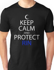 Keep Calm And Protect Rin Anime Manga Shirt Unisex T-Shirt