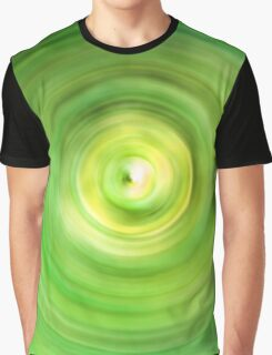 Lime Green Swirls Graphic T-Shirt
