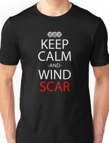 Keep Calm And Wind Scar Anime Manga Shirt Unisex T-Shirt