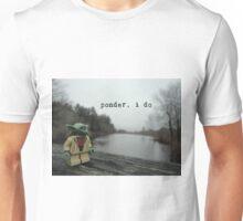 Pondering Yoda Unisex T-Shirt