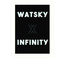 Watsky - x Infinity Art Print