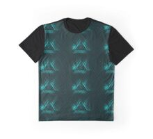 Triangle Behind the Mesh Graphic T-Shirt