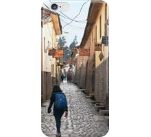 Street in Ollantaytambo, Peru iPhone Case/Skin