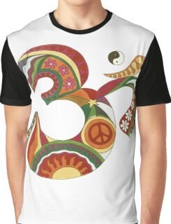 Vintage Psychedelic Fat Om Graphic T-Shirt