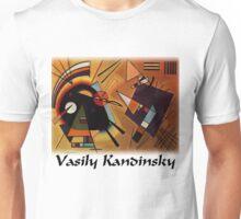 Kandinsky - Black and Violet Unisex T-Shirt
