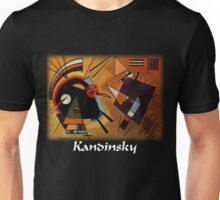 Kandinsky - Black and Violet Unisex T-Shirt