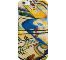 Kandinsky - Composition No. 4 iPhone Case/Skin