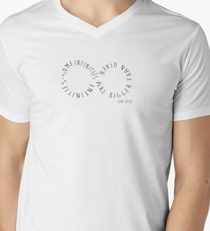 Infinities Mens V-Neck T-Shirt