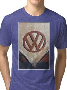 Rusty logo Tri-blend T-Shirt