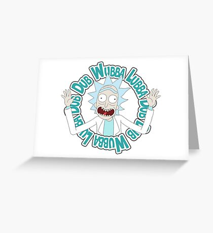 rick Wubba Greeting Card