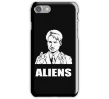 X Files Mulder Ancient Aliens  iPhone Case/Skin