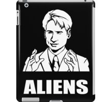 X Files Mulder Ancient Aliens  iPad Case/Skin