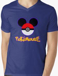 PokeMouse Mens V-Neck T-Shirt