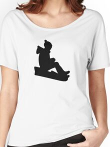 Sled Luge Women's Relaxed Fit T-Shirt