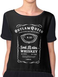 Outlaw Queen Whiskey Women's Chiffon Top