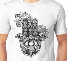 Hamsa Mandala Unisex T-Shirt
