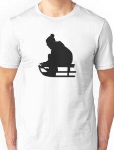 Sled Luge child Unisex T-Shirt