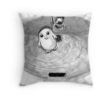 Adipose in the Sink Throw Pillow