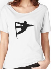 Snowboard freestyle Women's Relaxed Fit T-Shirt