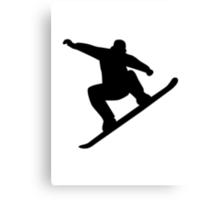 Snowboarding freestyle Canvas Print