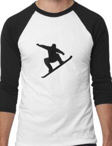 Snowboarding freestyle Men's Baseball ¾ T-Shirt