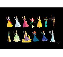 Origami - The Princesses Photographic Print