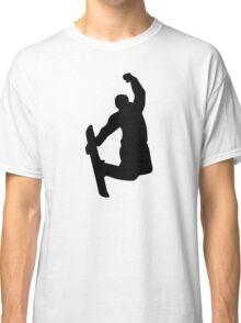 Snowboarder jump Classic T-Shirt