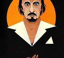 Al Pacino digital portrait by groovyart
