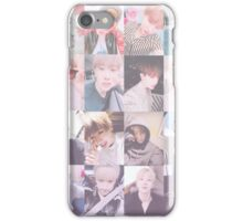 Wonho Selfies (Pink) iPhone Case/Skin
