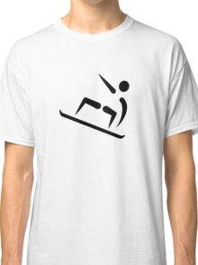 Freestyle snowboard icon Classic T-Shirt