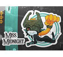 Miss Midnight Photographic Print