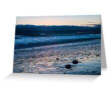 New MoonStone Beach, Cambria, CA Greeting Card
