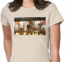 Perfectly Playful Piggies Womens Fitted T-Shirt
