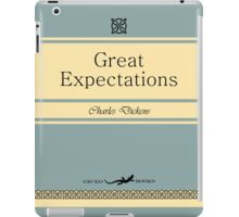 Great Expectations Retro Book Cover iPad Case/Skin