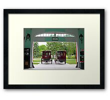 Grand Carriages II Framed Print