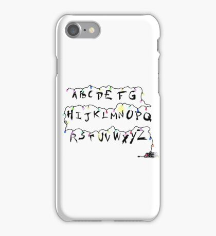 Stranger Things - RUN iPhone Case/Skin