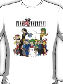 Final Fantasy 6 Characters T-Shirt
