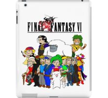 Final Fantasy 6 Characters iPad Case/Skin