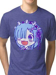 Re:Zero - Rem - Chibi (RENDER) Tri-blend T-Shirt